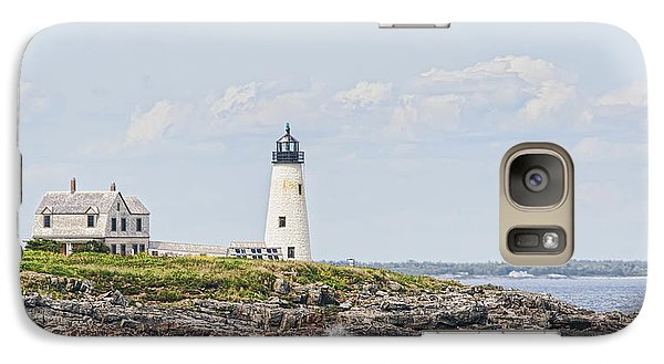 Galaxy Case featuring the photograph Wood Island Light by Richard Bean