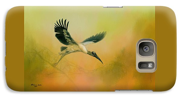 Stork Galaxy S7 Case - Wood Stork Encounter by Marvin Spates