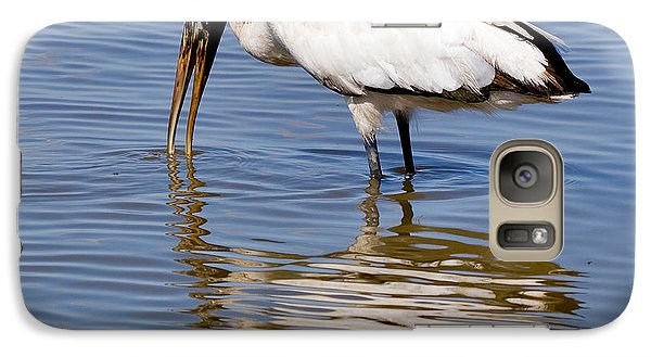 Wood Stork Galaxy S7 Case by Louise Heusinkveld