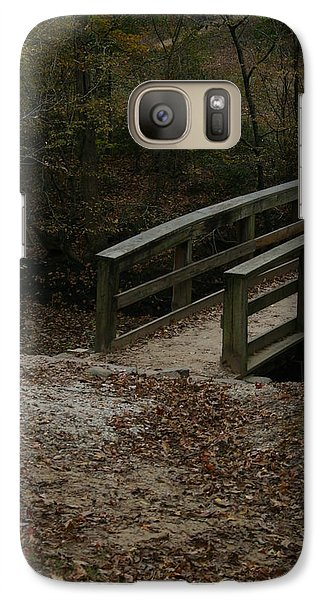 Galaxy Case featuring the photograph Wooden Bridge by Kim Henderson