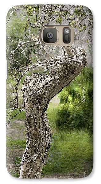 Galaxy Case featuring the photograph Wooden Heart by Viktor Savchenko