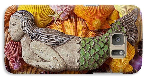 Wooden Mermaid Galaxy S7 Case by Garry Gay