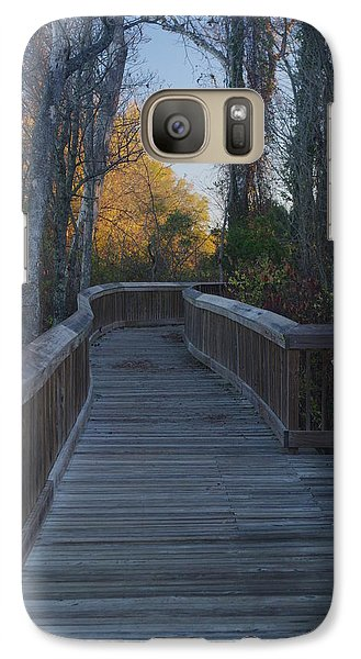 Wooden Path Galaxy S7 Case