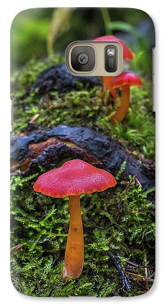 Galaxy S7 Case featuring the photograph Woodland Floor Decor by Bill Pevlor