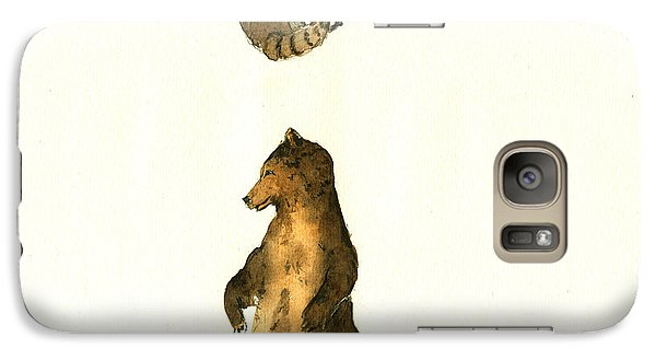 Woodland Letter I Galaxy Case by Juan  Bosco