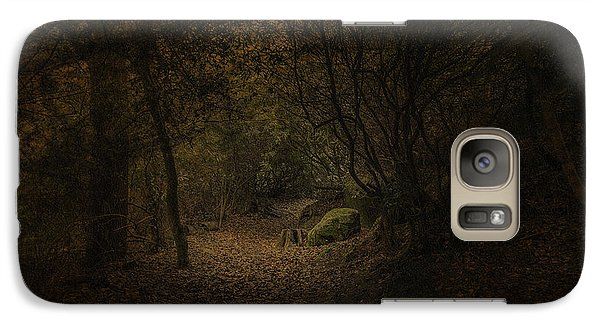 Galaxy Case featuring the photograph Woodland Walk by Ryan Photography