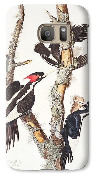 Woodpecker Galaxy S7 Case - Woodpeckers by John James Audubon