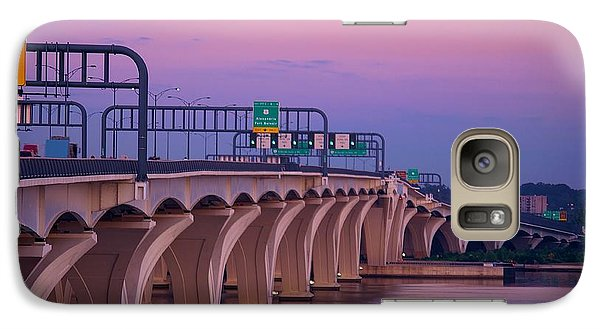 Woodrow Wilson Bridge Galaxy S7 Case
