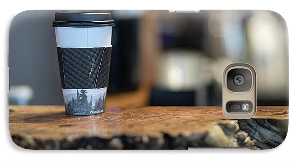 Galaxy Case featuring the photograph Woods Coffee by Jim  Hatch