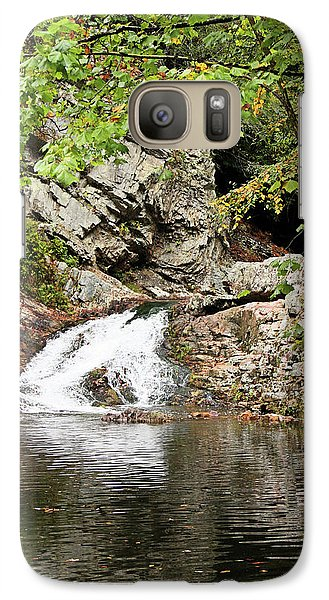 Galaxy Case featuring the photograph Woodsy Flow by Kristin Elmquist