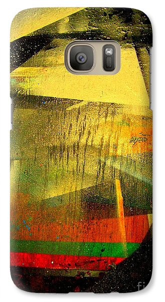 Galaxy Case featuring the painting Work Bench by Greg Moores