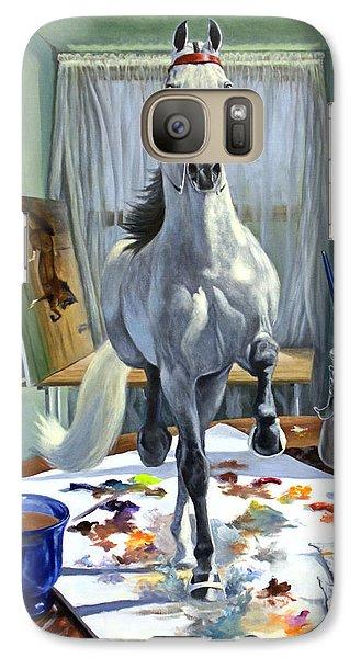 Surrealism Galaxy S7 Case - Work In Progress V by Jeanne Newton Schoborg