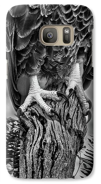 Galaxy Case featuring the photograph Working Feet by Steve Zimic
