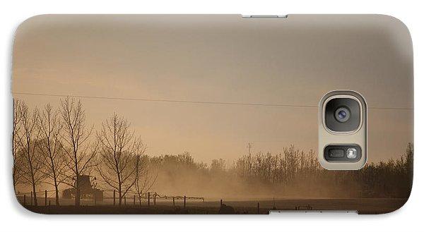 Galaxy Case featuring the photograph Working The Field by Wilko Van de Kamp