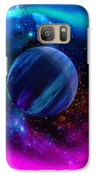 Galaxy Case featuring the photograph World Of Water by Naomi Burgess