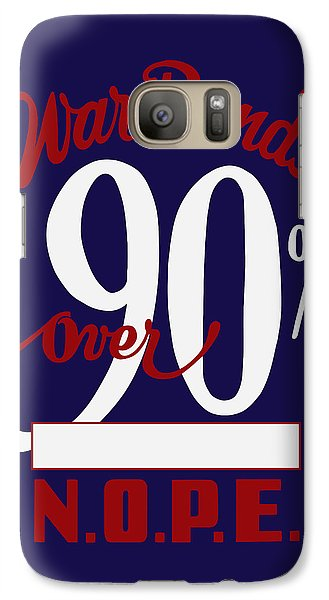Galaxy Case featuring the mixed media World War Two - War Bonds  by War Is Hell Store