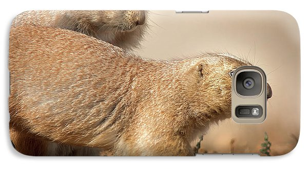 Galaxy Case featuring the photograph Worried Prairie Dog by Robert Frederick