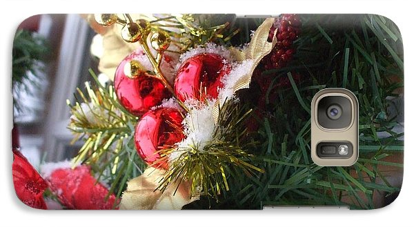 Galaxy Case featuring the photograph Wreath by Shana Rowe Jackson