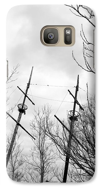 Galaxy Case featuring the photograph Wrecked by Valentino Visentini