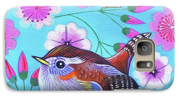 Wren Galaxy S7 Case by Jane Tattersfield