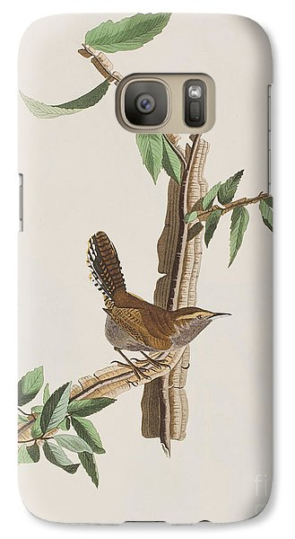 Wren Galaxy S7 Case by John James Audubon