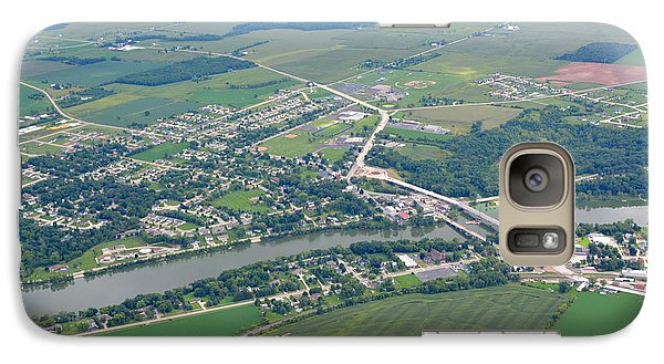 Galaxy Case featuring the photograph Wrightstown Wisconsin by Bill Lang