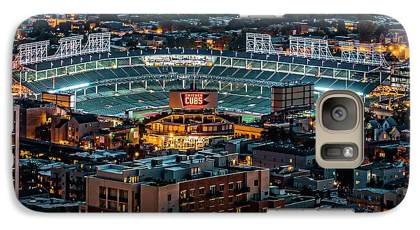 Wrigley Field From Park Place Towers Dsc4678 Galaxy Case by Raymond Kunst