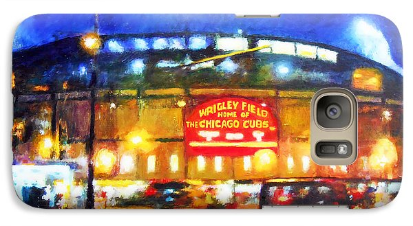 Wrigley Field Home Of Chicago Cubs Galaxy S7 Case