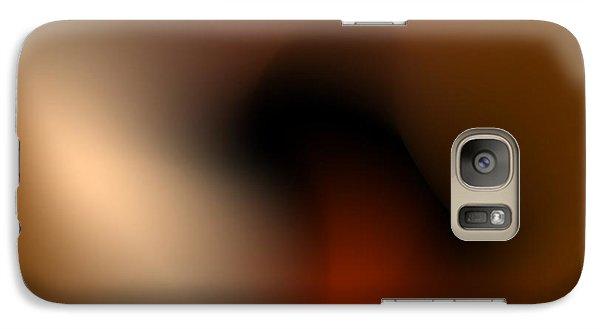 Galaxy Case featuring the digital art Wrinkle by Leo Symon