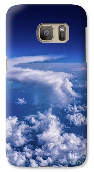 Writing In The Sky Galaxy S7 Case