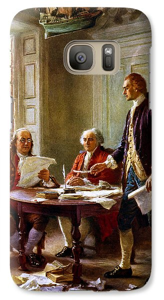 Writing The Declaration Of Independence Galaxy Case by War Is Hell Store