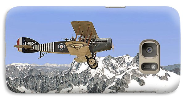 Galaxy Case featuring the photograph Ww1 - Bristol Fighter by Pat Speirs