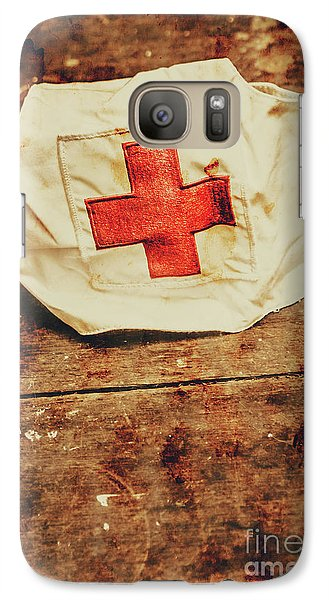 Ww2 Nurse Hat. Army Medical Corps Galaxy S7 Case by Jorgo Photography - Wall Art Gallery