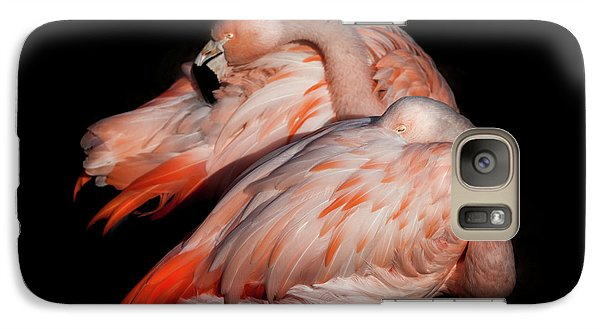 Galaxy Case featuring the photograph When Two Become As One by Karen Wiles