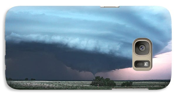 Galaxy Case featuring the photograph Wynnewood Tornado by James Menzies