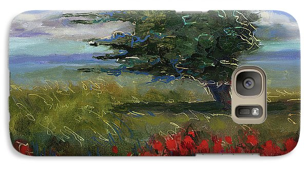 Galaxy Case featuring the painting Wyoming Gentle Breeze by Billie Colson