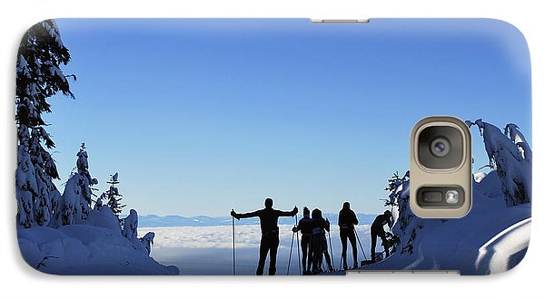 Galaxy Case featuring the photograph X-country Skiing  by Bill Thomson