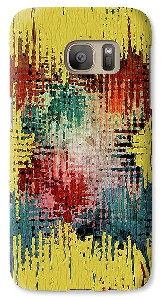 Galaxy Case featuring the digital art X Marks The Spot by Bonnie Bruno