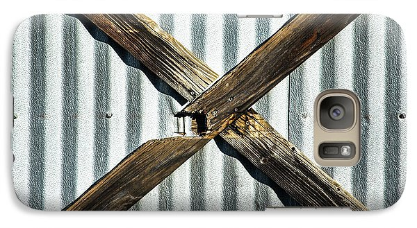 Galaxy Case featuring the photograph X Marks The Spot by Karol Livote