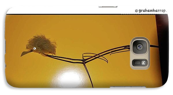 Galaxy Case featuring the photograph X-ray Bird by Graham Harrop