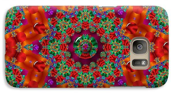 Galaxy Case featuring the digital art Xmas by Robert Orinski