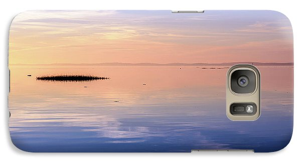 Galaxy Case featuring the photograph Xtra Blue by Thierry Bouriat