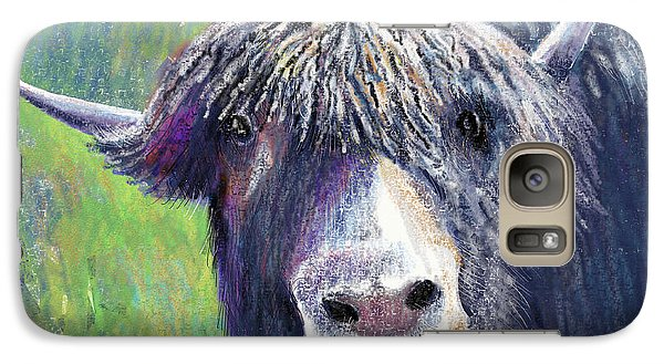 Yakity Yak Galaxy Case by Arline Wagner