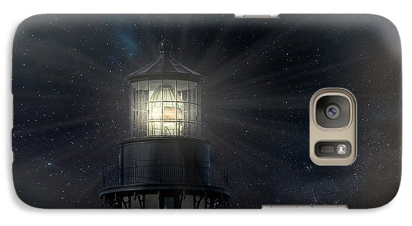 Yaquina Head At Night Galaxy S7 Case