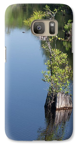 Galaxy Case featuring the photograph Yawkey Wildlife Refuge - Cat Island by Suzanne Gaff