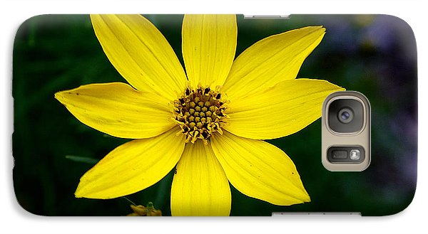 Galaxy Case featuring the photograph Yellow by Adrian LaRoque