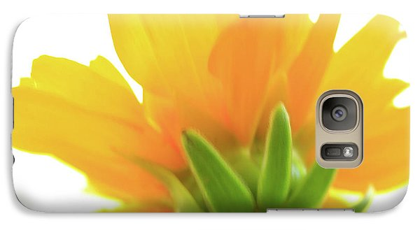 Galaxy Case featuring the photograph Yellow And Green by Roger Mullenhour