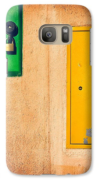 Galaxy Case featuring the photograph Yellow And Green by Silvia Ganora