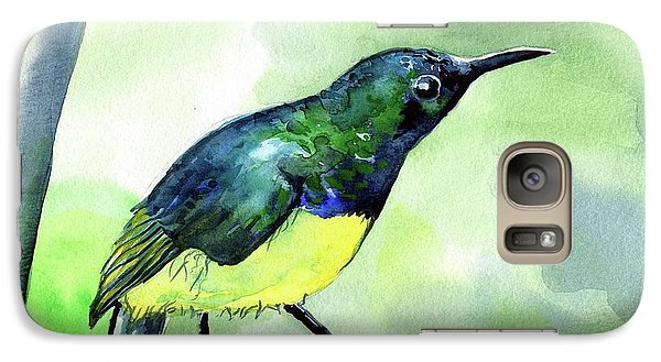 Yellow Bellied Sunbird Galaxy S7 Case