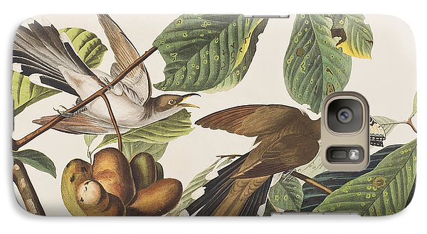 Yellow Billed Cuckoo Galaxy S7 Case by John James Audubon